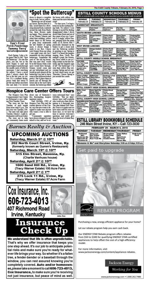 The Estill County Tribune